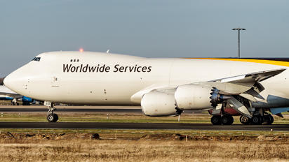 N606UP - UPS - United Parcel Service Boeing 747-8F