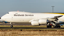 N606UP - UPS - United Parcel Service Boeing 747-8F aircraft