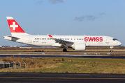 HB-JCD - Swiss Bombardier CS300 aircraft