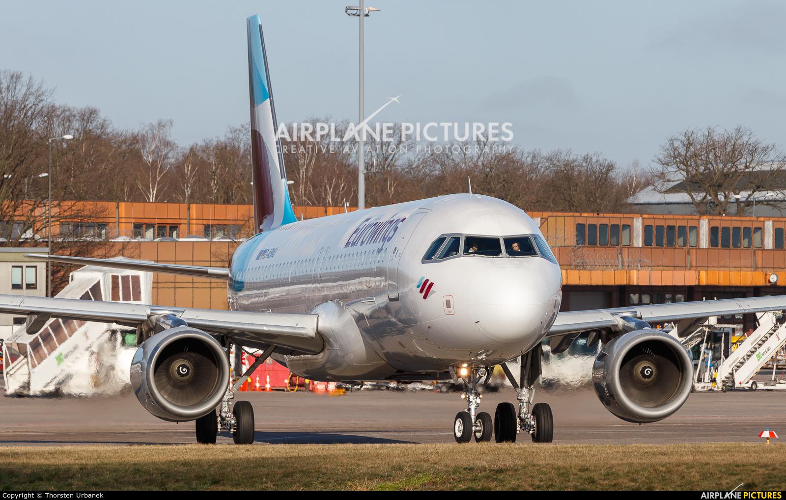 Eurowings D-ABNU aircraft at Berlin - Tegel