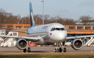 D-ABNU - Eurowings Airbus A320 aircraft