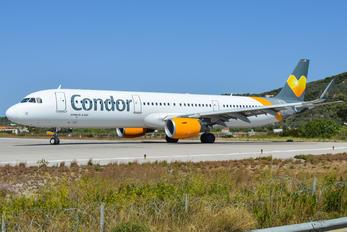 D-AIAH - Condor Airbus A321