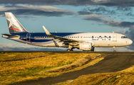 CC-BFP - LATAM Airbus A320 aircraft