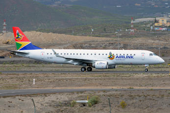EI-GCI - Airlink Airways (South Africa) Embraer ERJ-190 (190-100)