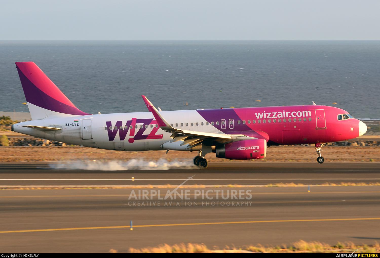 Wizz Air HA-LYE aircraft at Tenerife Sur - Reina Sofia