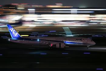 JA898A - ANA - All Nippon Airways Boeing 787-9 Dreamliner