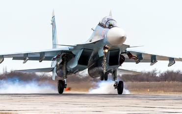 RF-95823 - Russia - Air Force Sukhoi Su-30SM