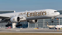 A6-ECU - Emirates Airlines Boeing 777-300ER aircraft