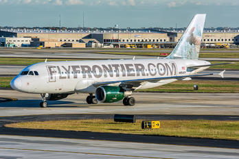 N954FR - Frontier Airlines Airbus A319