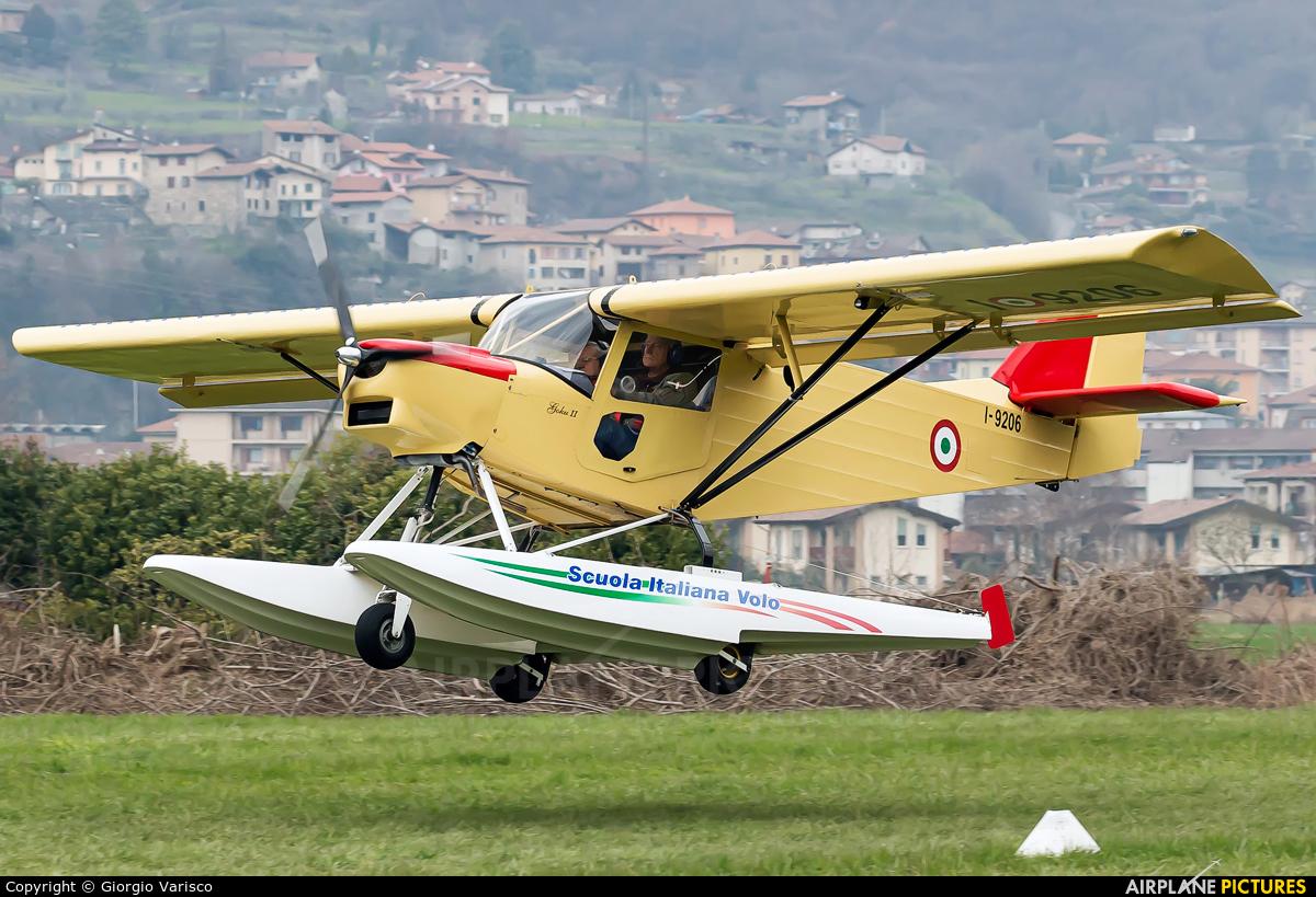 Private I-9206 aircraft at Costa Volpino