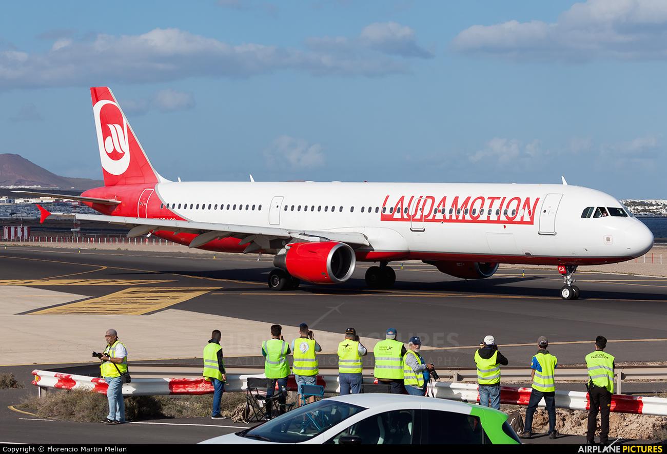 LaudaMotion OE-LCG aircraft at Lanzarote - Arrecife