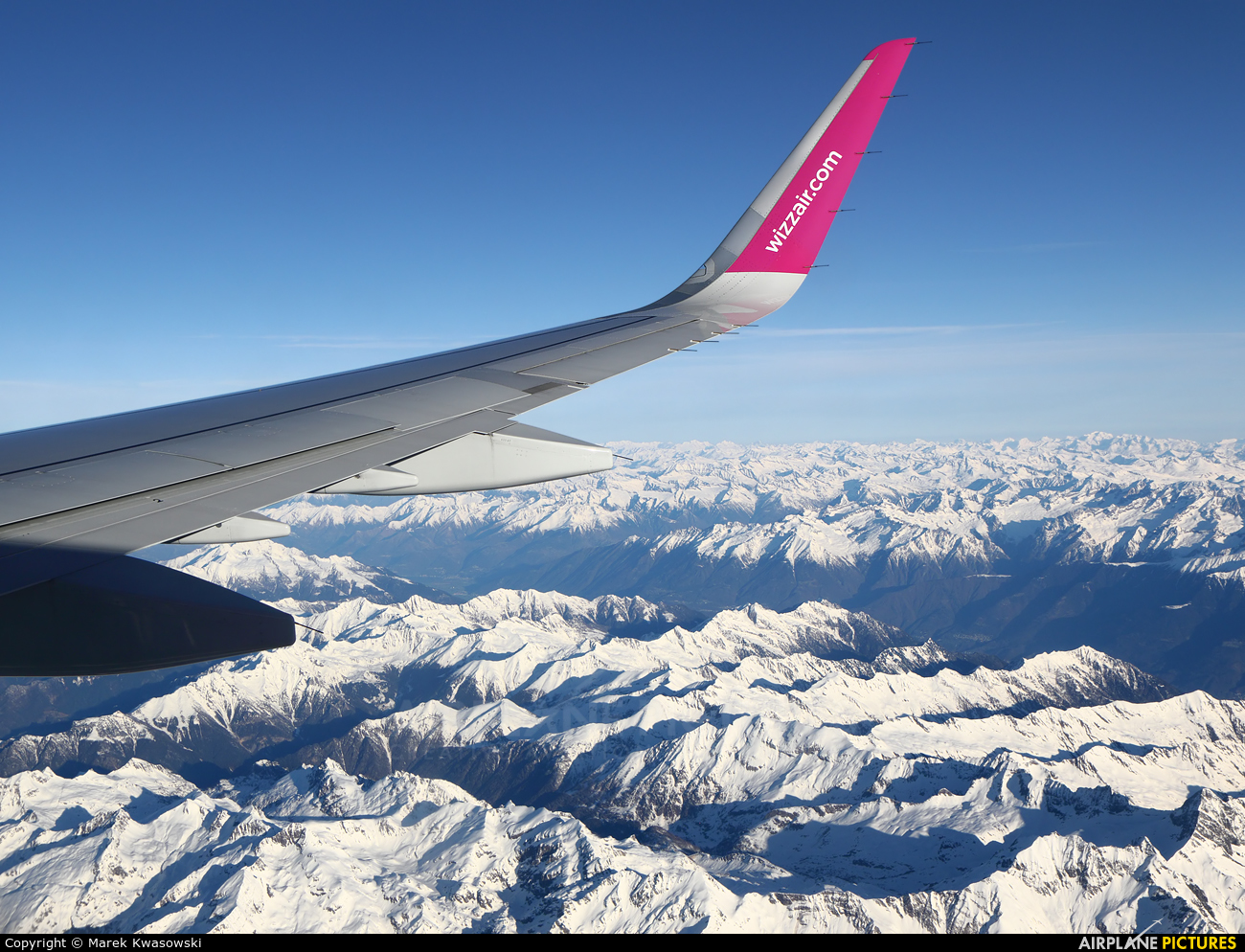 Wizz Air HA-LXN aircraft at In Flight - Italy