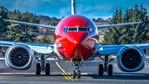 EI-FYE - Norwegian Air Shuttle Boeing 737-8 MAX aircraft