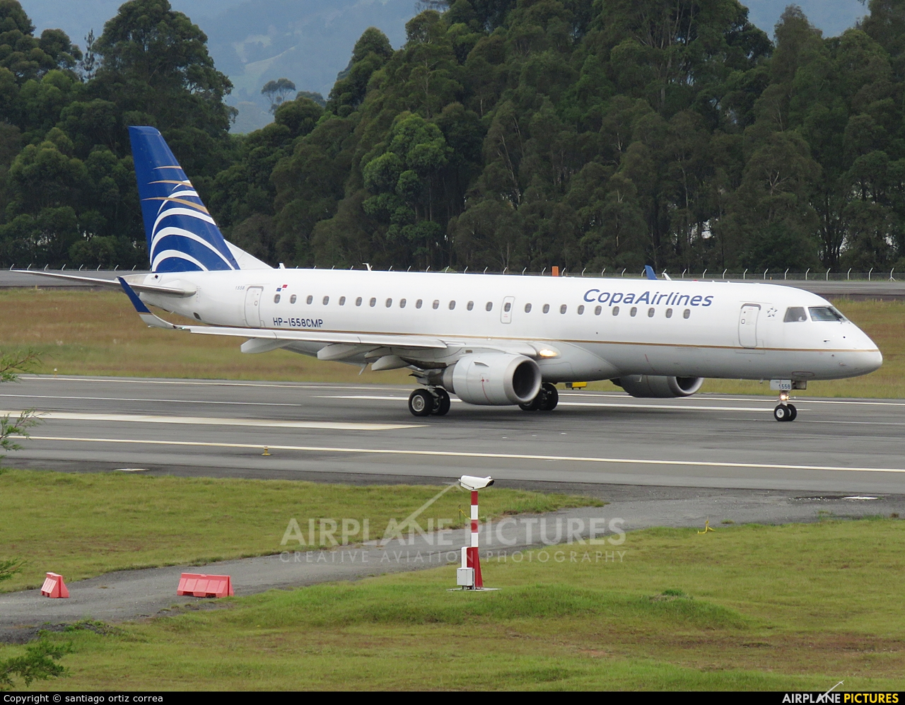 Copa Airlines Colombia HP-1558-CMP aircraft at Medellin - Olaya Herrera
