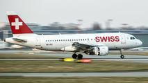 HB-IPU - Swiss Airbus A319 aircraft
