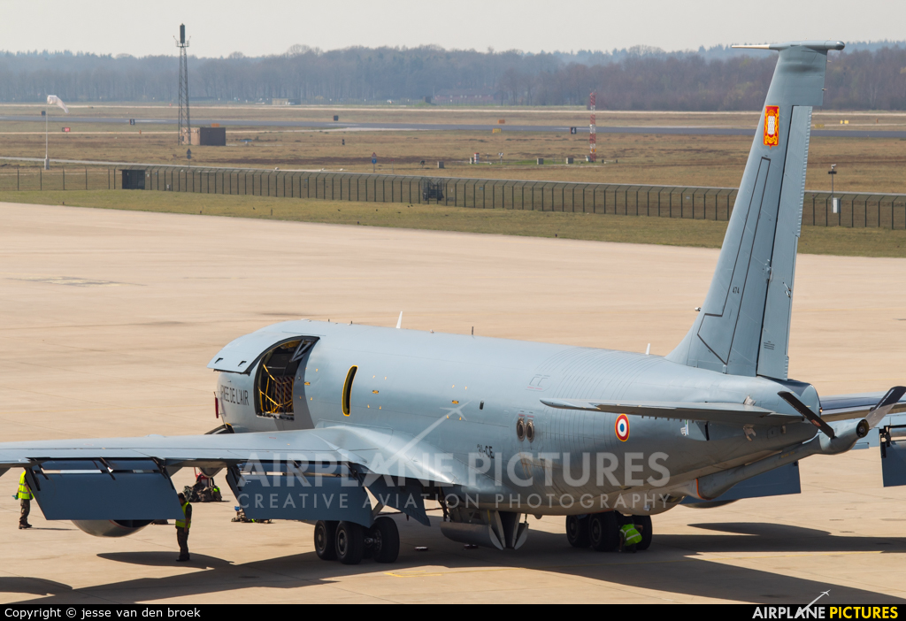 France - Air Force 474 aircraft at Eindhoven