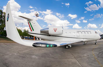 3911 - Mexico - Air Force Bombardier Challenger 605