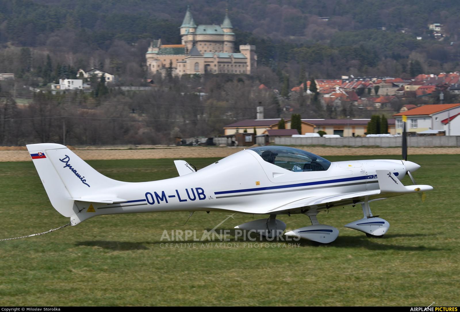 Private OM-LUB aircraft at Prievidza