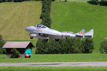 HB-RVF - Private de Havilland DH.115 Vampire T.55