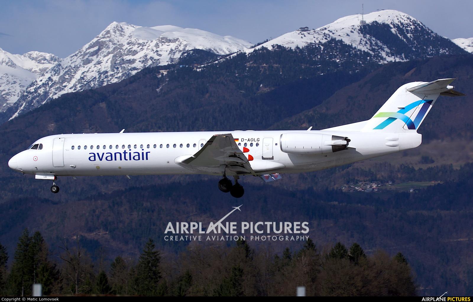 AvantiAir D-AOLG aircraft at Ljubljana - Brnik