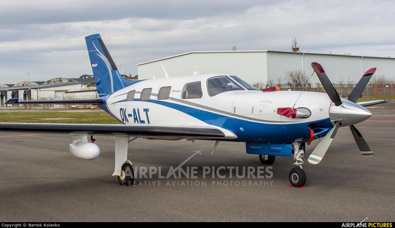 Private OK-ALT aircraft at Krosno