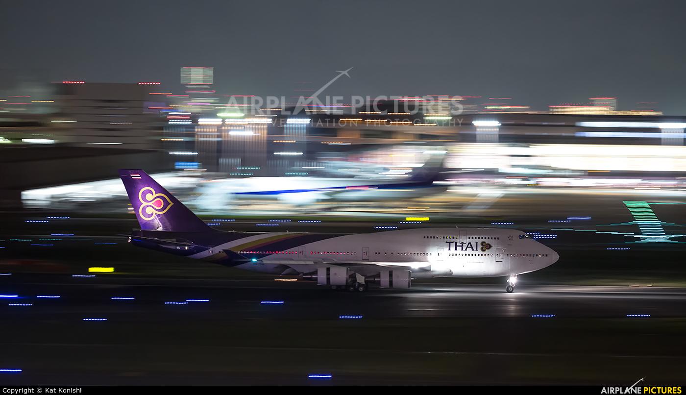 Thai Airways HS-TGF aircraft at Tokyo - Haneda Intl
