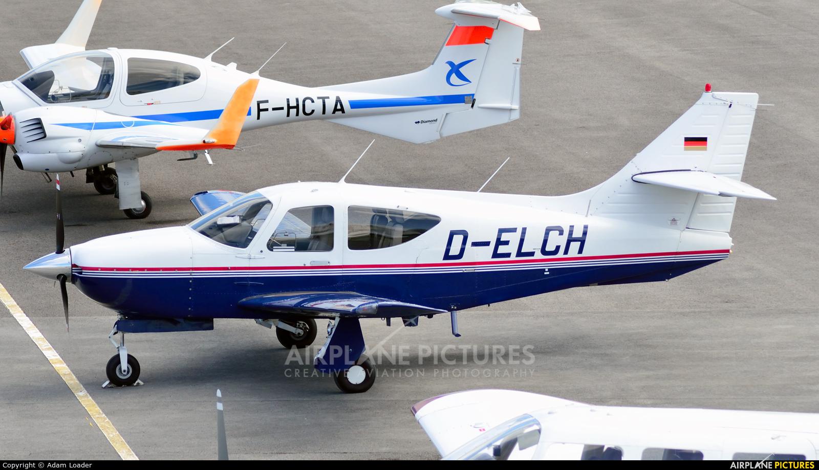 Private D-ELCH aircraft at Le Touquet - Côte d