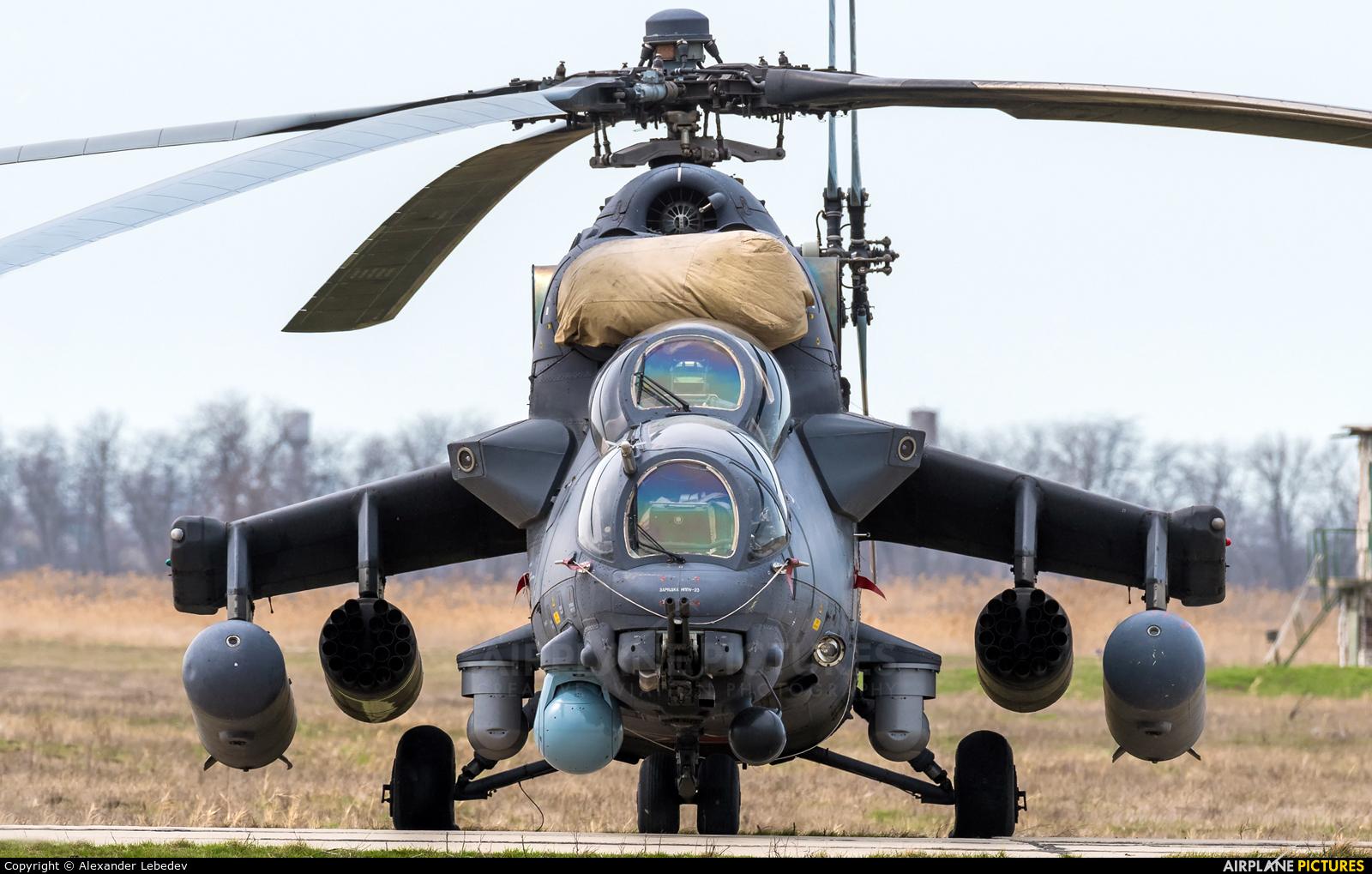 Russia - Air Force RF-13008 aircraft at Primorsko-Akhtarsk