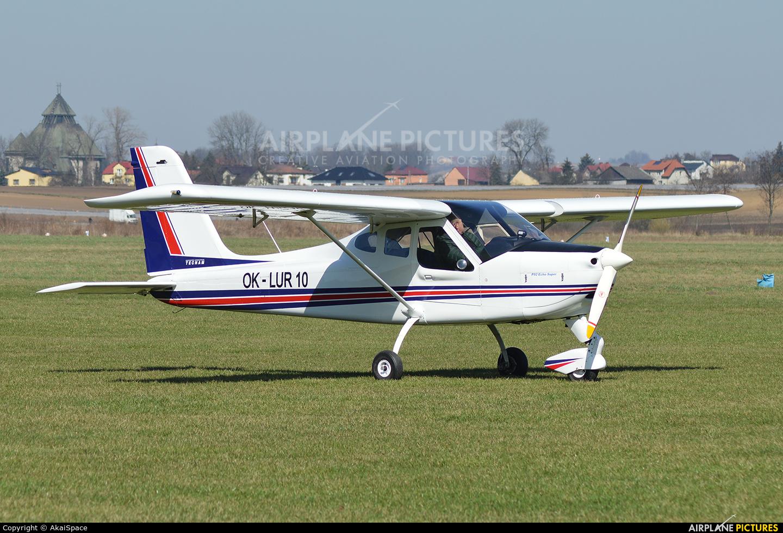 Private OK-LUR10 aircraft at Kraków - Pobiednik Wielki