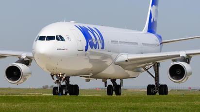 F-GLZP - Joon Airbus A340-300