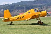 OM-KJR - Aero Slovakia Zlín Aircraft Z-37A Čmelák aircraft