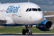 Rare visit of Ellinair A319 to Sofia title=
