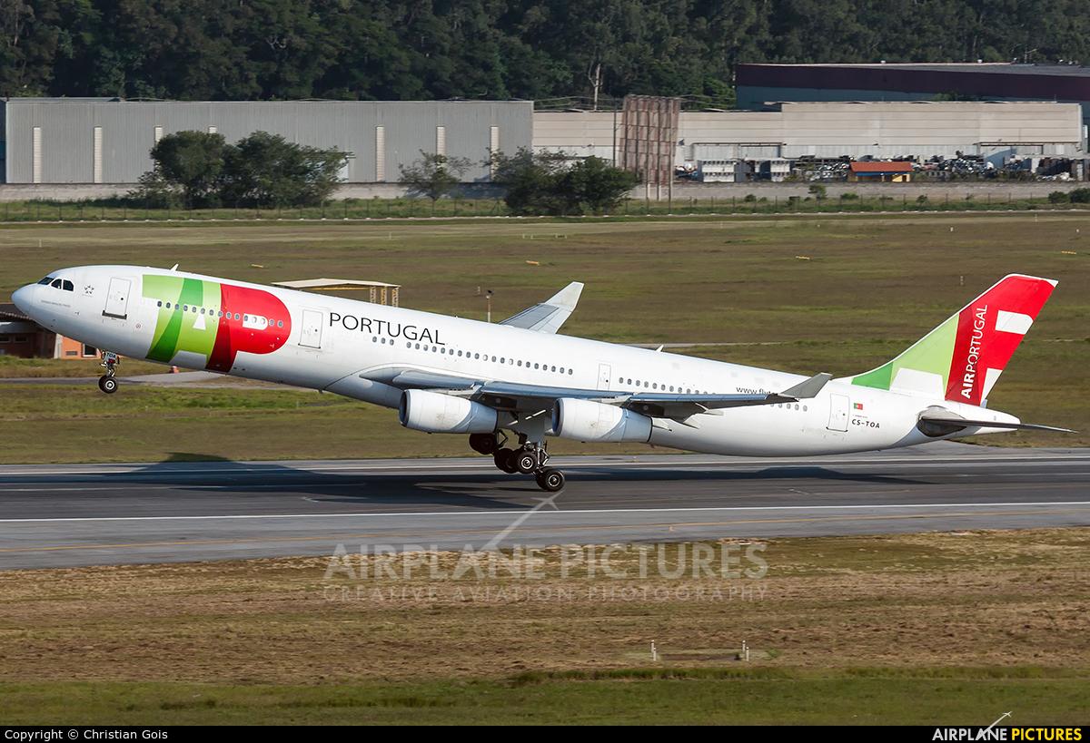 TAP Portugal CS-TOA aircraft at São Paulo - Guarulhos
