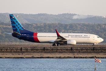 PK-CMW - Sriwajaya Air Boeing 737-800