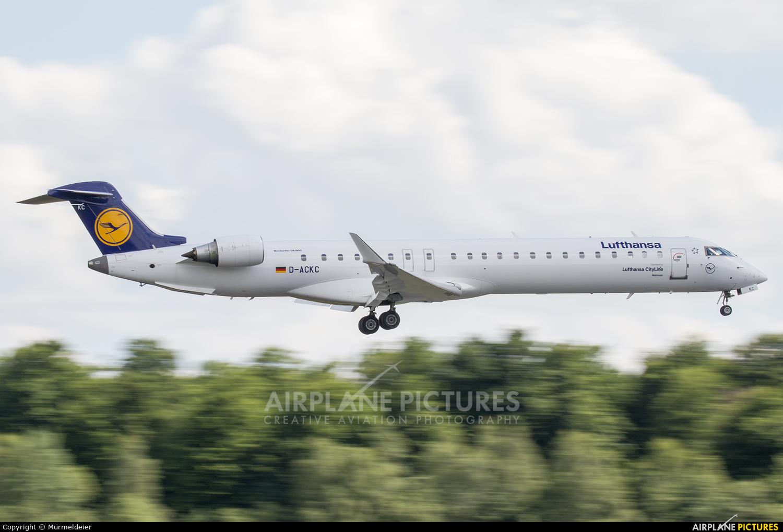 Lufthansa Regional - CityLine D-ACKC aircraft at Luxembourg - Findel