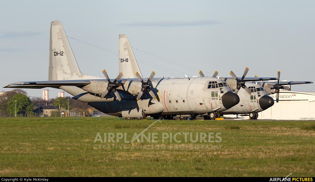 Belgium - Air Force CH-12 aircraft at Glasgow