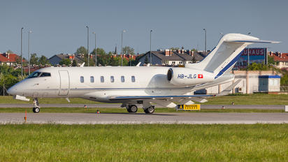 HB-JLG - TAG Aviation Bombardier BD-100 Challenger 350 series