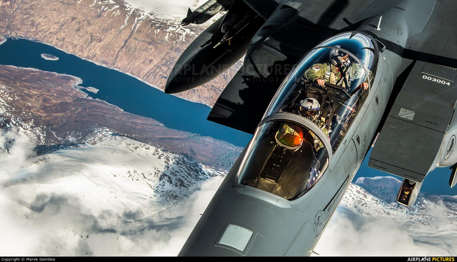 USA - Air Force 00-3004 aircraft at In Flight - Scotland