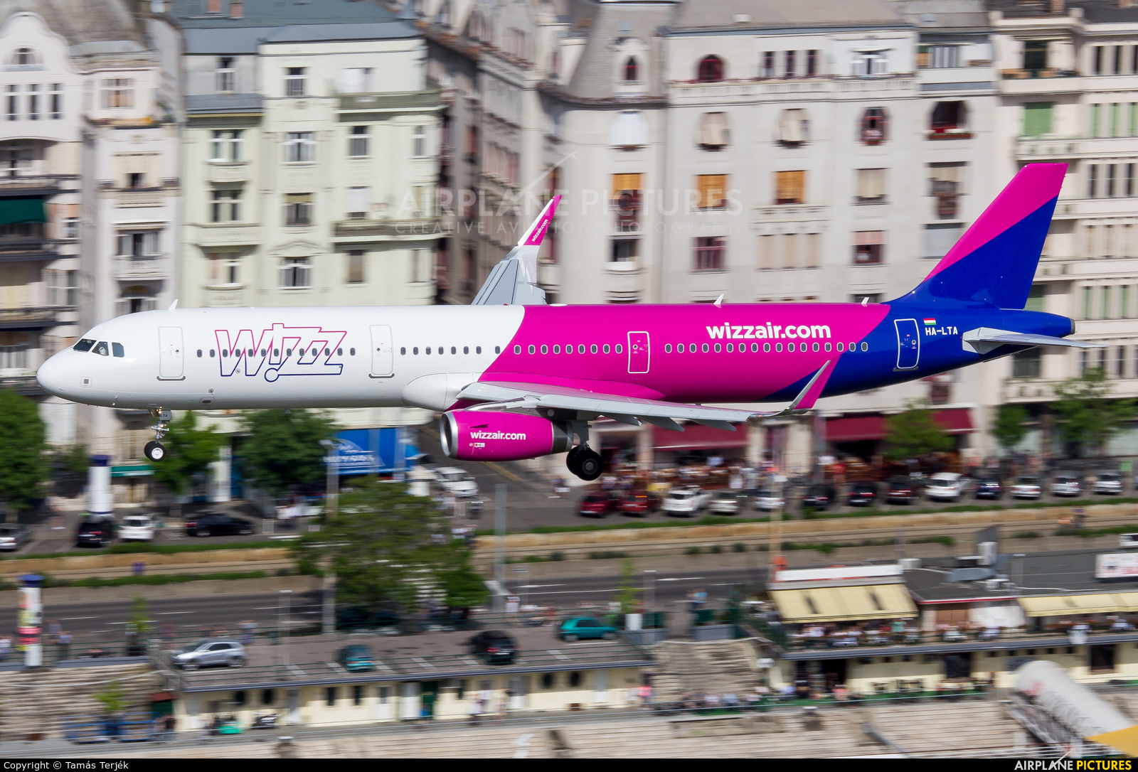Wizz Air HA-LTA aircraft at Off Airport - Hungary