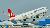 TC-JTA - Turkish Airlines Airbus A321 aircraft
