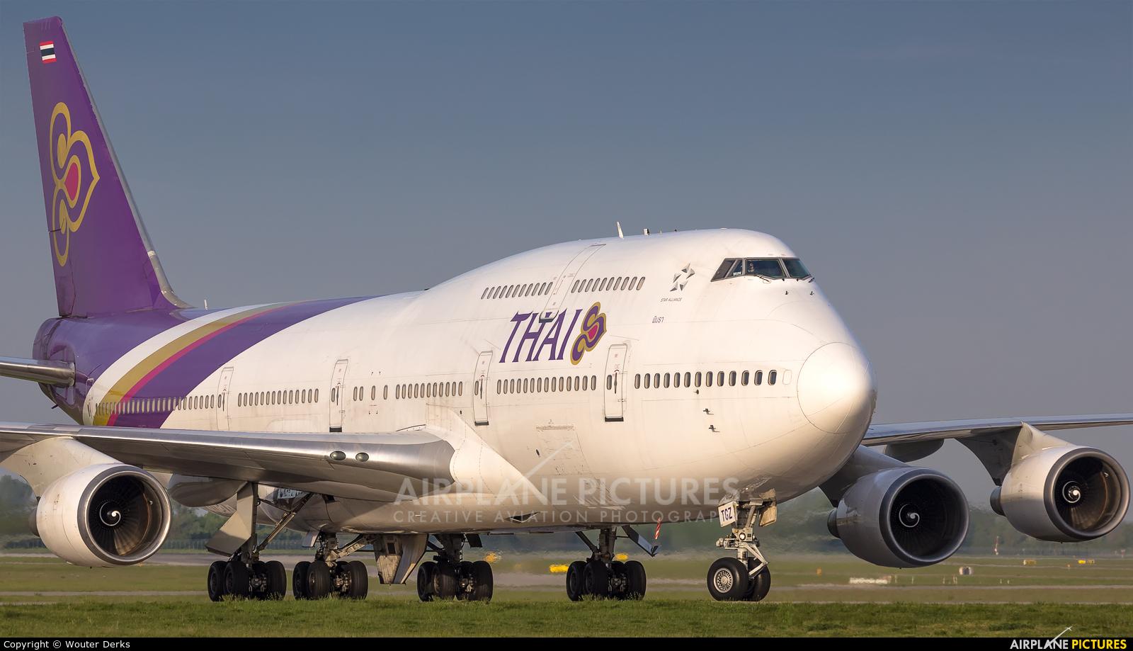 Thai Airways HS-TGZ aircraft at Munich