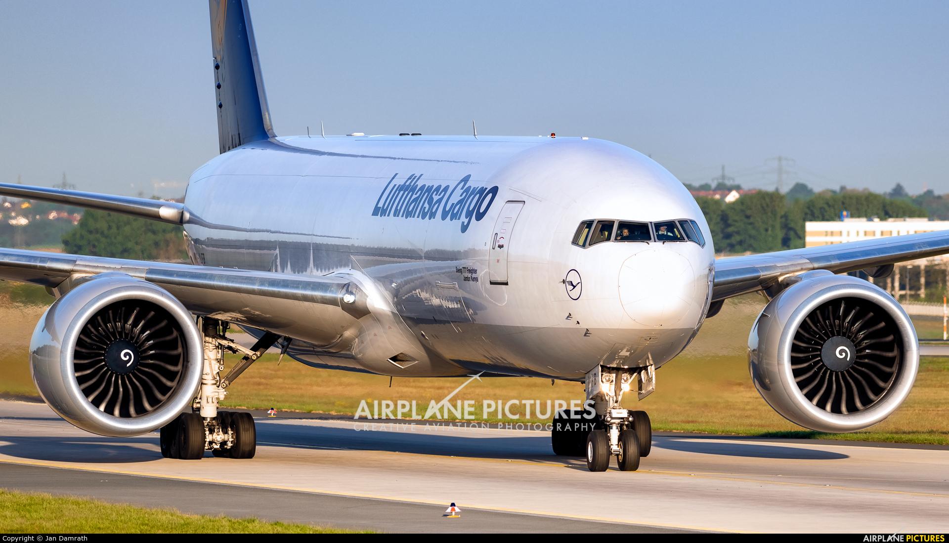 Lufthansa Cargo D-ALFB aircraft at Frankfurt