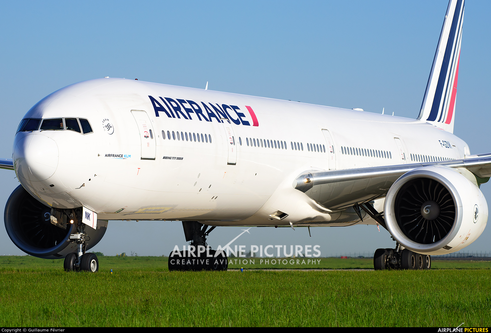 Air France F-GZNK aircraft at Paris - Charles de Gaulle