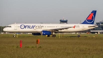 TC-OBJ - Onur Air Airbus A321