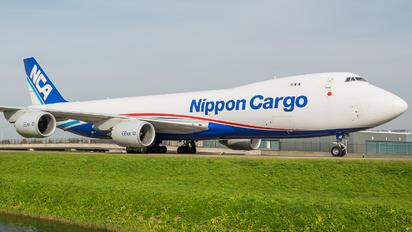 JAI6KZ - Nippon Cargo Airlines Boeing 747-8F