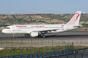 TS-IMI - Tunisair Airbus A320 aircraft