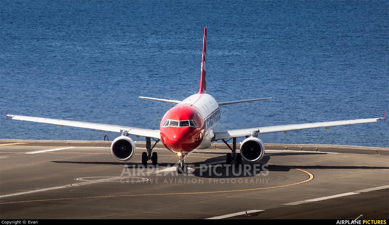 Edelweiss HB-IJV aircraft at Madeira