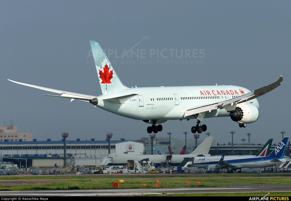 Air Canada C-GHPY aircraft at Tokyo - Narita Intl