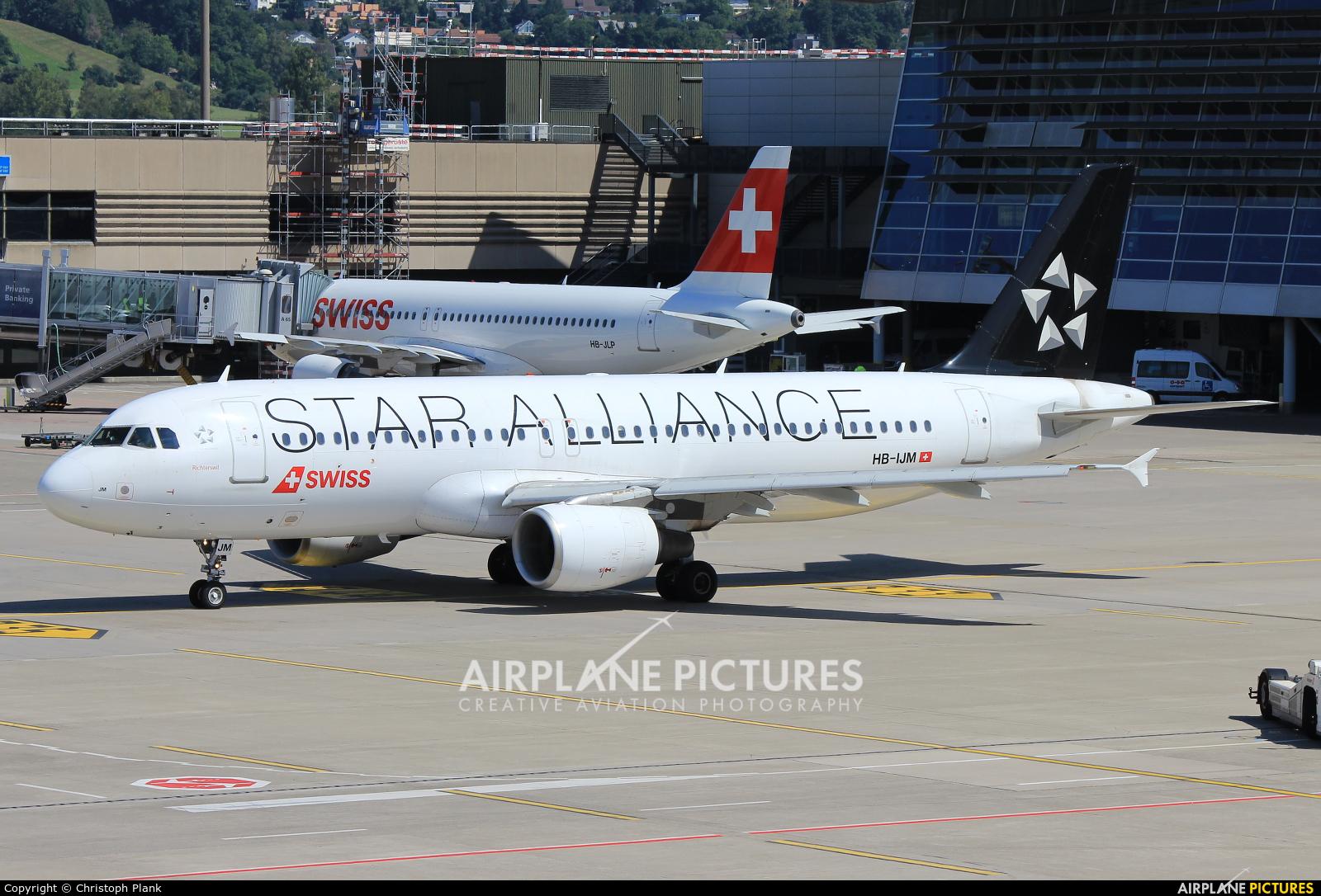 Swiss HB-IJM aircraft at Zurich