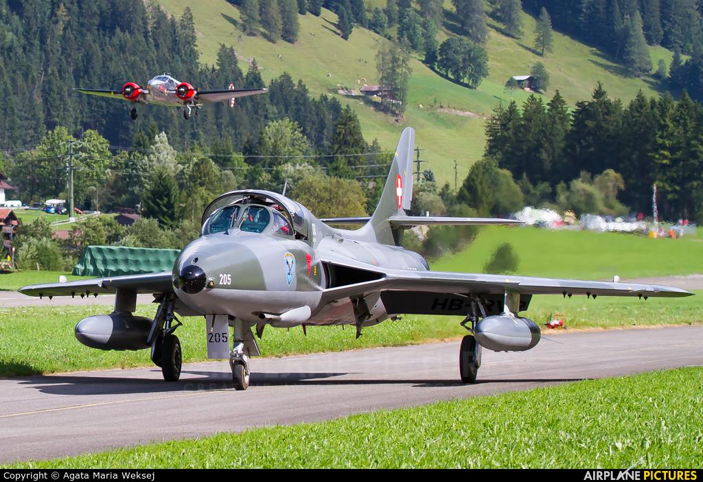Fliegermuseum Altenrhein HB-RVP aircraft at St. Stephan